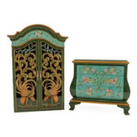 Picture of Peacock Garden Cabinet | The Gallery