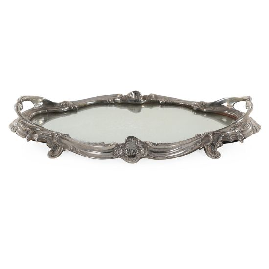 Picture of Leafy Mirror Tray | The Gallery