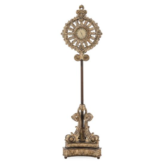 Picture of Floor Clock -Oxidized Gold Finish | The Gallery