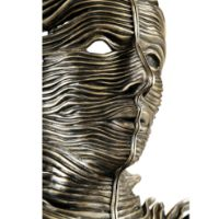 Picture of Antique Dark Bronze Mask Sculpture by Jonathan Charles