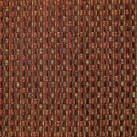 Picture of Woven Boxes Rust Fabric
