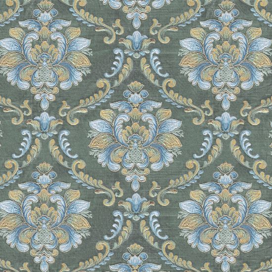 Picture of Velvet Spring Field Classic Floral Embroiderd Tiffany