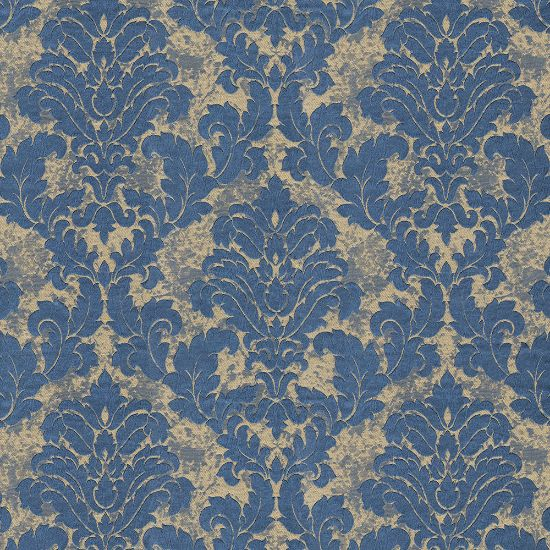 Picture of Jacquard Ambition Crackle Indigo Navy