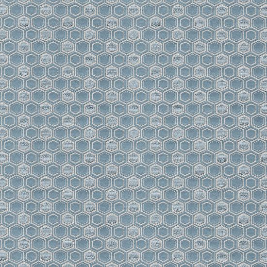 Picture of Jacquard Ambition Honey Comb Blue
